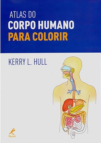 Livros de Medicina para colorir: Atlas do Corpo Humano para Colorir