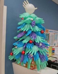 Enfeites Natal para Hospitais