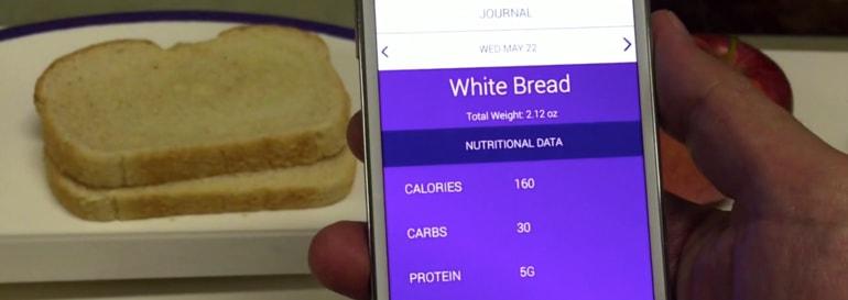 Prato inteligente calculará informações nutricionais do alimentos