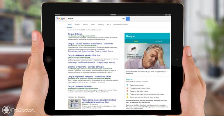Google e Einstein lançam parceria para resultados de busca sobre saúde