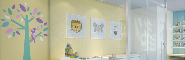 Clínica Pediatria - O que fazer nas paredes