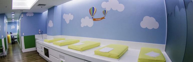 Consultórios Pediatria - Sanitários e Fraldário