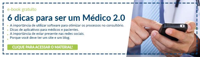 Banner e-book como ser um médico 2.0