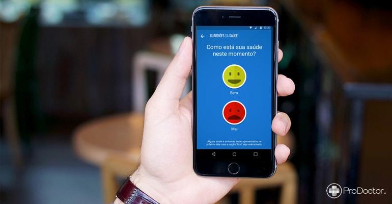 Guardiões da Saúde - Aplicativo monitora saúde e previne surtos