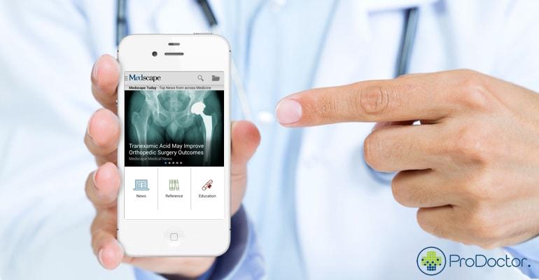 MedScape – Aplicativo para médicos e acadêmicos de medicina