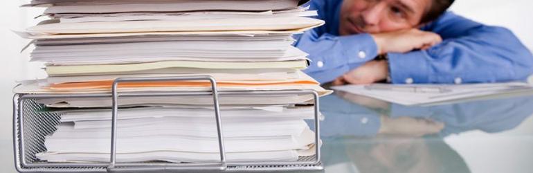 Diminuindo o acumulo de papel da clínica ou consultório