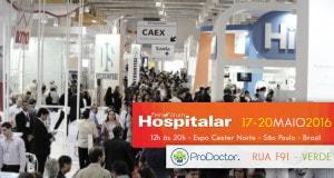 ProDoctor: presente na Hospitalar 2016