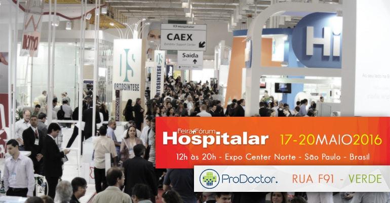 ProDoctor presente na Hospitalar 2016
