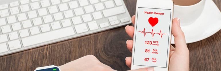 Aplicativos para controlar a pressão arterial