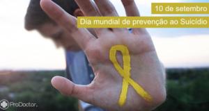 Dia Mundial de Prevenção do Suicídio