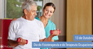 Dia Nacional do Fisioterapeuta e do Terapeuta Ocupacional
