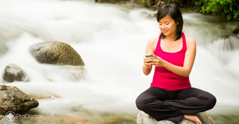 Aplicativos estimulam a Meditação