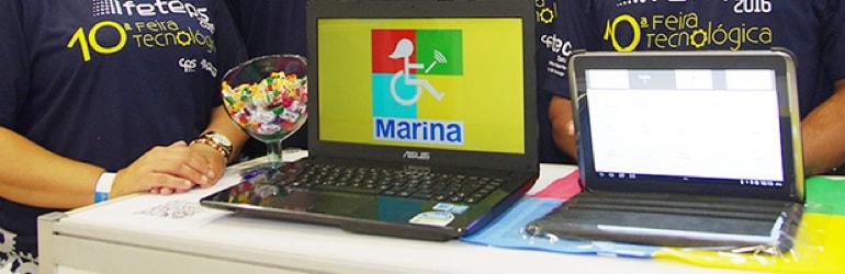 aplicativo Marina