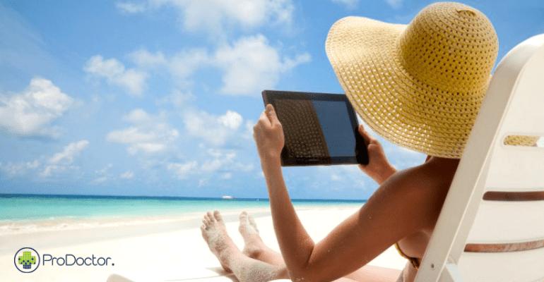 Como se relacionar com os pacientes durante as férias