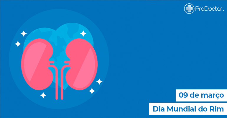 Dia Mundial do Rim - Aplicativos para Nefrologistas e pacientes renais