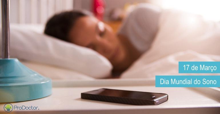 Dia Mundial do Sono - Aplicativos para Médicos e pacientes dormirem melhor