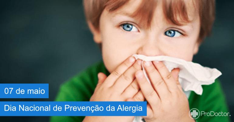 Dia Nacional de Prevenção da Alergia