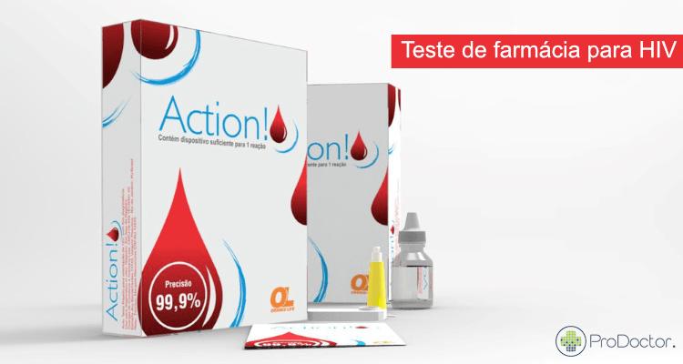 Teste de farmácia para HIV ganha registro no Brasil