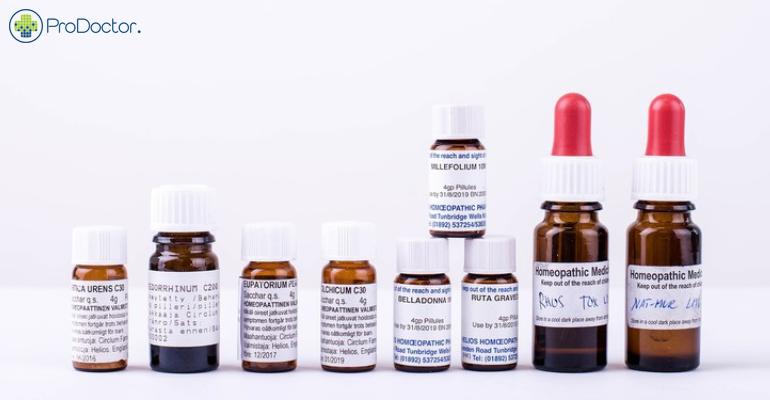 EUA vao conter venda de produtos homeopaticos