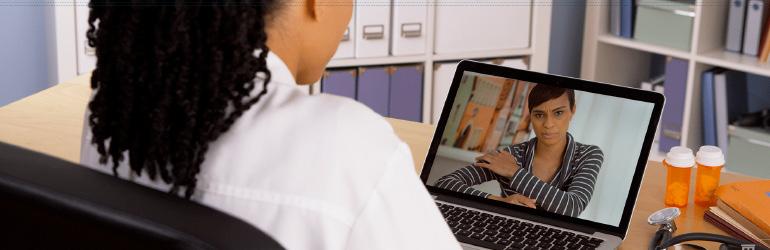 Consulta médica virtual: Telemedicina