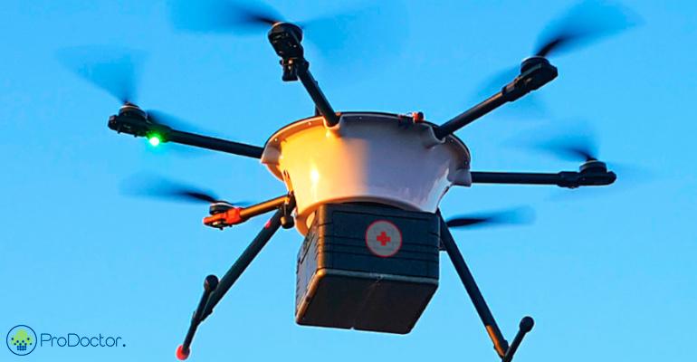 Entrega de remedios por drones ja e realidade no Brasil