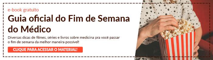 Banner e-book Guia oficial do Fim de Semana do Médico
