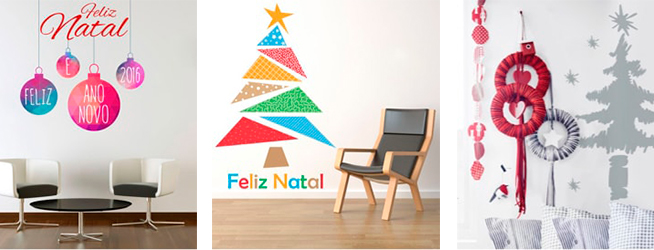 Decoração de Natal para consultórios