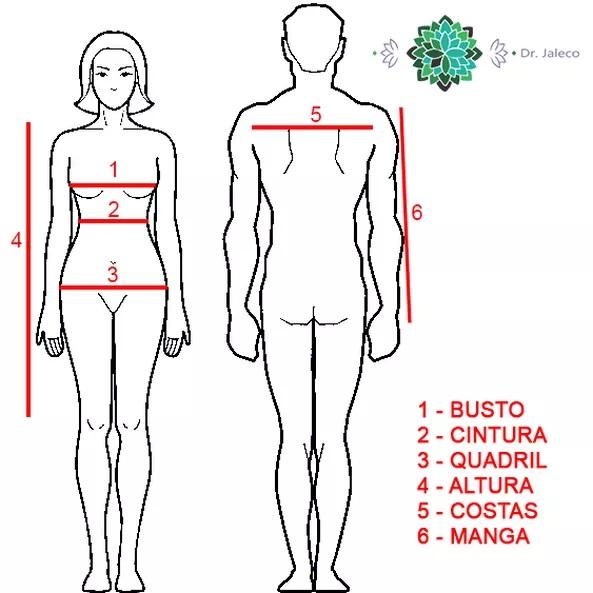 Como escolher seu jaleco - Medidas e tamanho