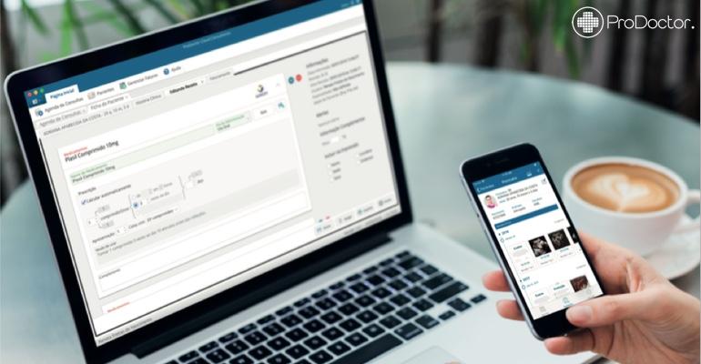 Prescrição médica de forma rápida com o ProDoctor Cloud Consultórios