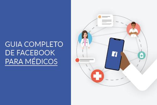 Banner - Guia prático de Facebook para médicos