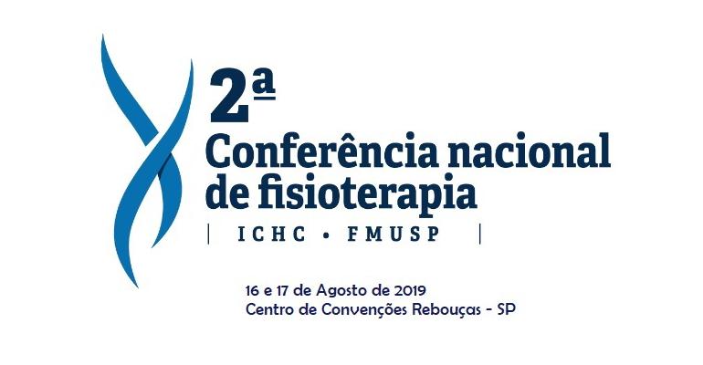 2º Conferência Nacional de Fisioterapia do ICHC