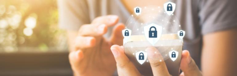 Segurança de dados no aplicativo para consultórios