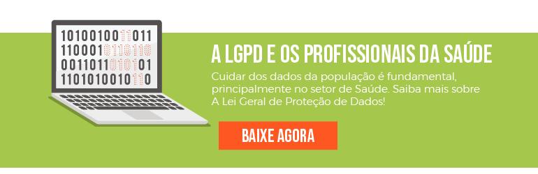 E-book A LGPD e os profissionais da Saude