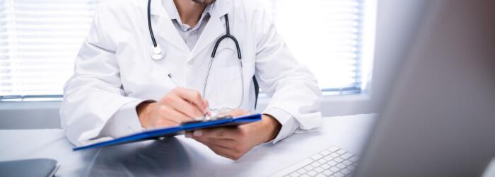 Diferença para laudo médico